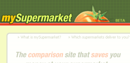 WEBSITE OF THE DAY – mysupermarket.co.uk