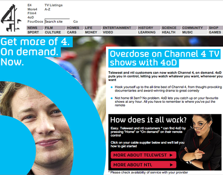 WEBSITE OF THE DAY – channel4.com/4od