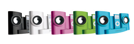 Intempo launch iDS-01NR speakers for coloured iPod nanos