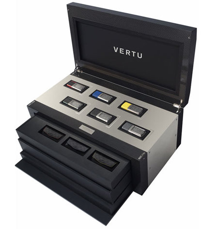 Vertu releases limited-edition six Racetrack Legends mobiles box set