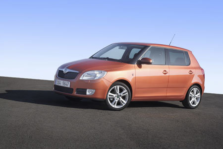 Skoda gives Fabia a makeover