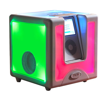 ISOX Disco Cube gives your iPod night fever