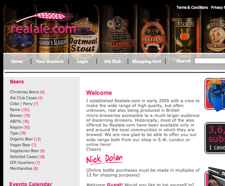 WEBSITE OF THE DAY – realale.com