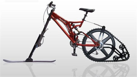 Ktrax lets you ski your bike