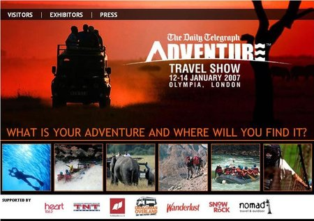 WEBSITE OF THE DAY – adventureshow.co.uk