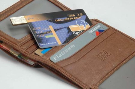 CES 2007: USB storage goes credit card size with Walletex