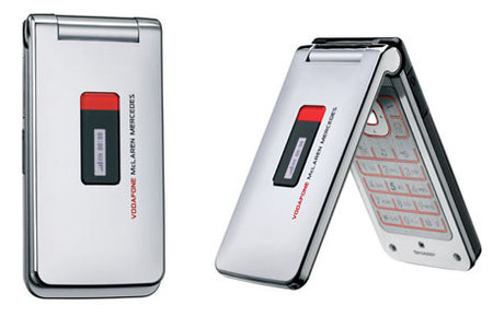 Vodafone launch McLaren Mercedes inspired mobile phones