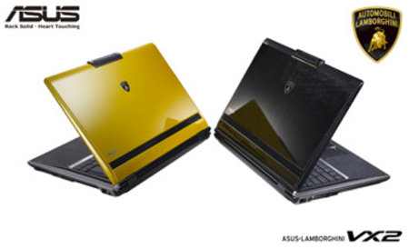 Asus and Lamborghini announce second notebook computer