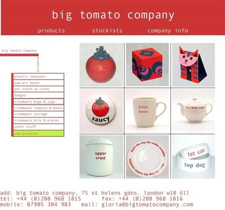 WEBSITE OF THE DAY - bigtomatocompany.com