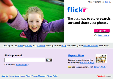 Flickr members object to opening Yahoo accounts