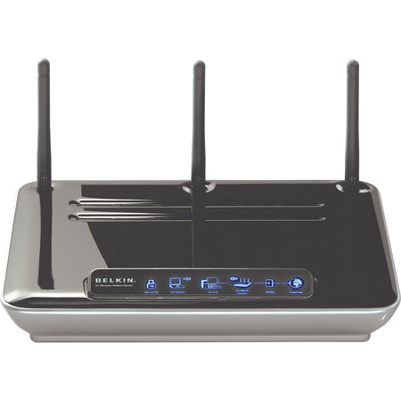 Belkin adds modem to N1 wireless router, releases print server