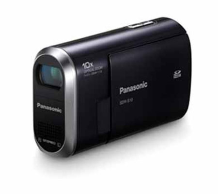 New Panasonic SDR-S10 claims to be world's smallest SD Camcorder