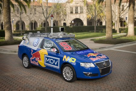 Stanford junior announced for DARPA Urban Challenge