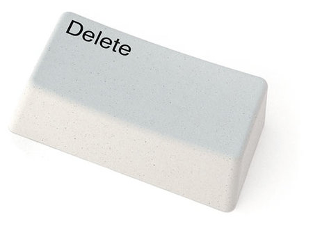 Delete key goes analogue