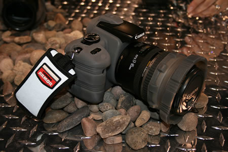 PMA 2007: Camera Armor encases your DSLR in silicon
