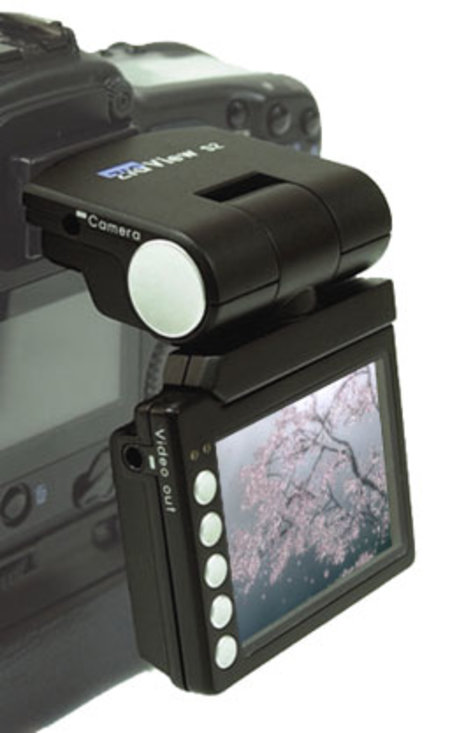 Canon, Nikon, Pentax and Sony get Live View LCD screens