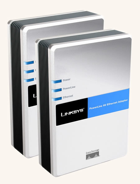 CeBIT 2007: Linksys PowerLine AV Ethernet Kit announced