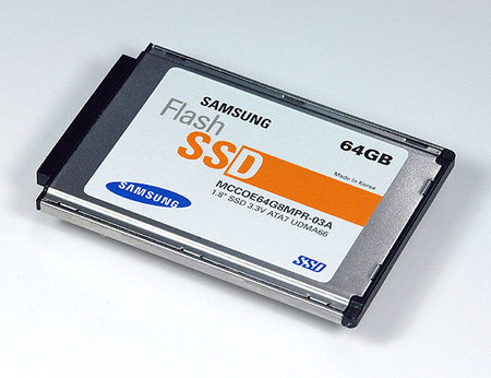 Samsung doubles SSD to 64GB