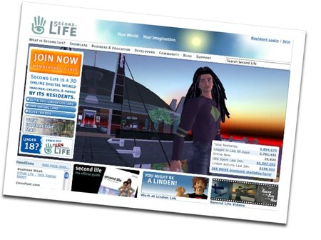 Visa takes to Second Life