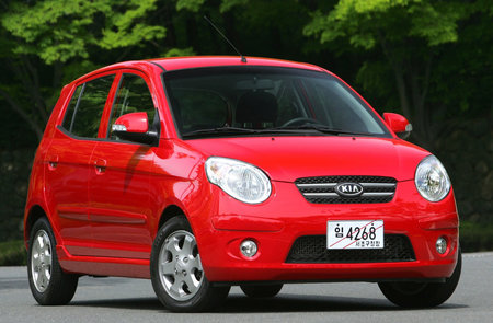 Kia remodels the Picanto