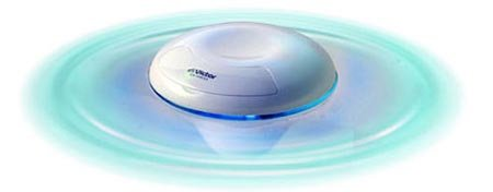 Floating MP3 player great for those rainy days