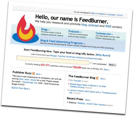 Google buys Feedburner