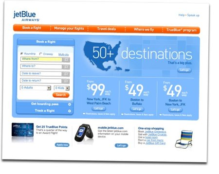 JetBlue airline adds Google Maps to help you find yourself in the air