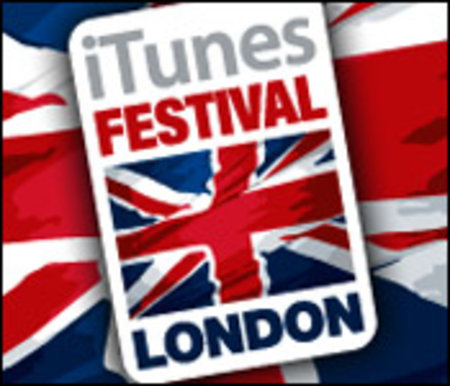 iTunes Festival coming to London in July