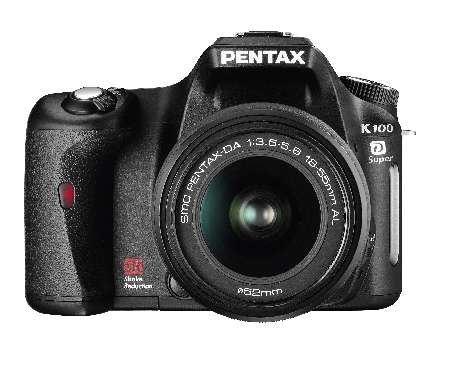 Pentax launches K100D Super digital SLR camera
