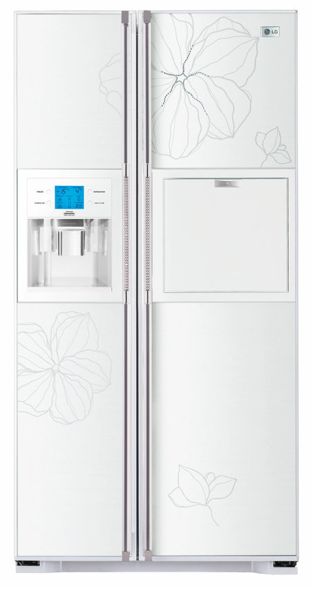 LG launches luxurious Swarovski lady-fridge