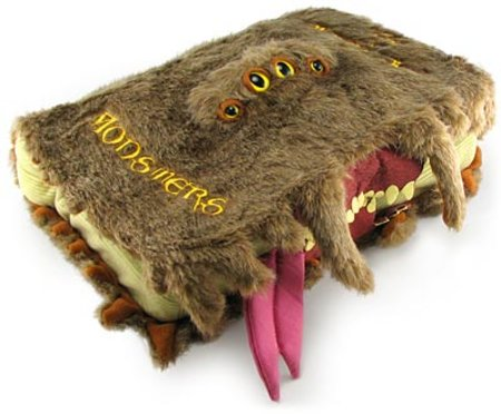 Harry Potter Monster Book of Monsters replica