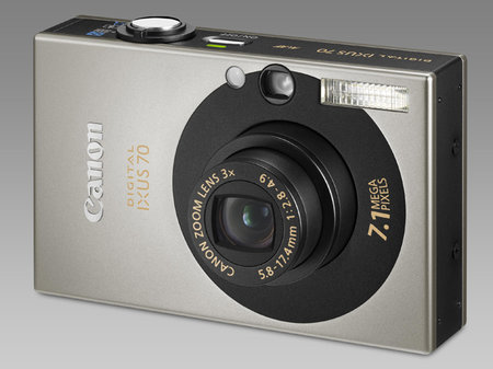 Win a Canon digital IXUS 70 camera with Photographypress