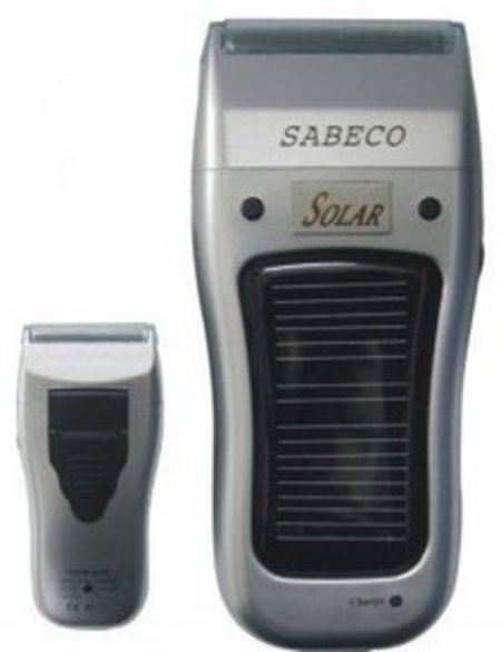 Solar powered shaver - for non-beardy tree-huggers