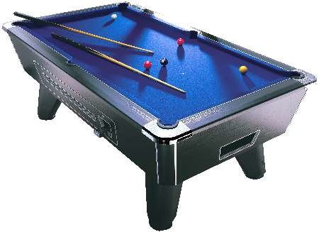 Firebox intros slate bed  American pool table