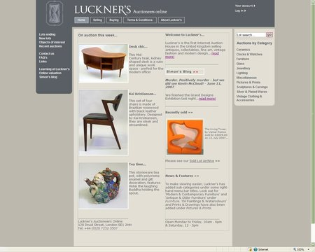 WEBSITE OF THE DAY - luckners.com