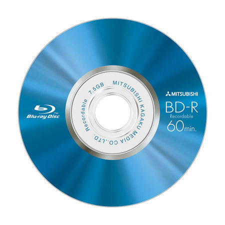 "Verbatim launches Mitsubishi ""Mini"" Blu-ray discs"