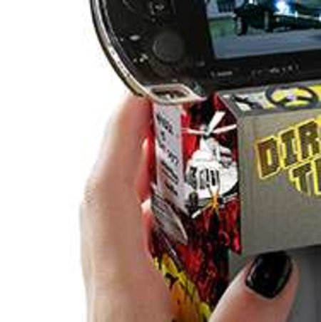 Mini cardboard arcade for your PSP
