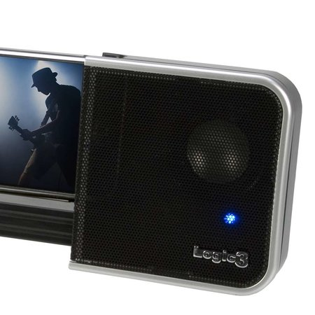 Logic3 launches dedicated speaker system for iPhones