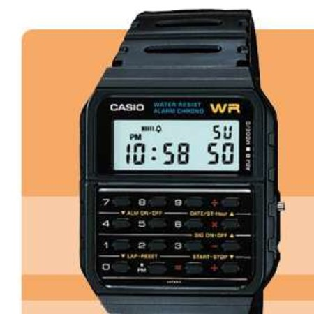Retro Casio digital watches on offer