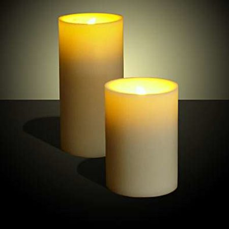 LED Candles offer blow on/off realism