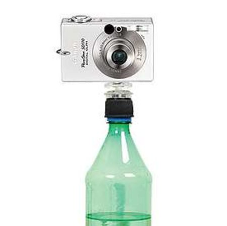 Snaps-On-A-Bottle mini camera stabilizer