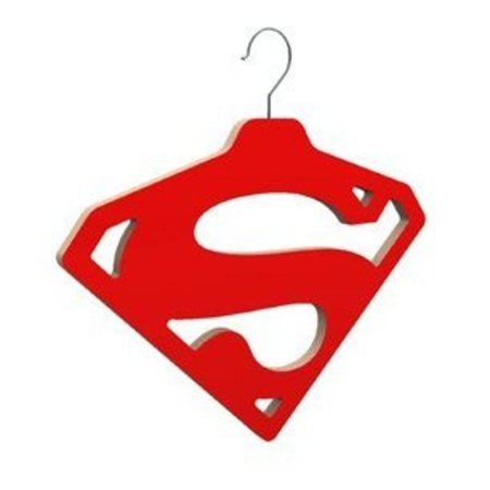 Superman coathanger for your Superhero clothing