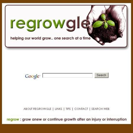WEBSITE OF THE DAY - regrowgle.com