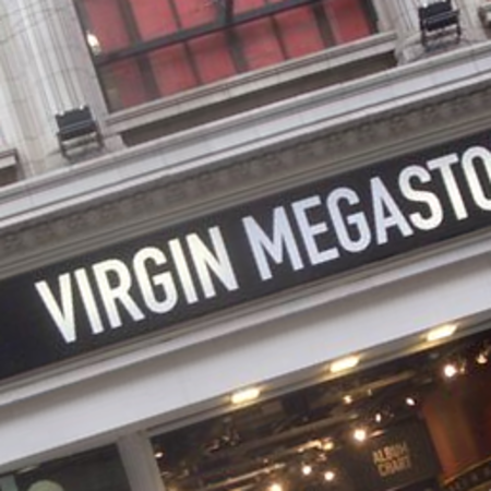 Virgin Megastore to disappear from high street