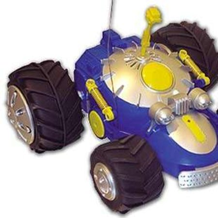 Metal detecting R/C buggy for treasure hunters
