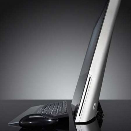 Gateway One: all-in-one metallic desktop PC