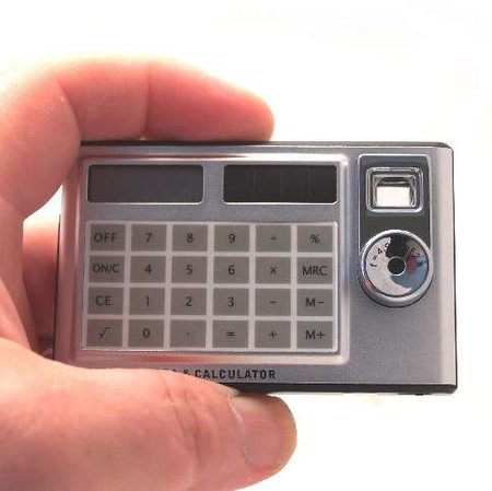 What do you get if you cross a calculator with a digi-cam?