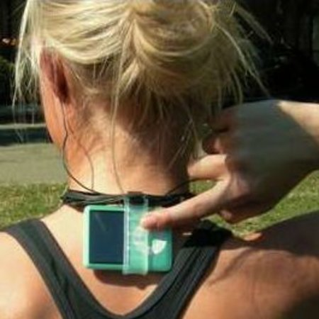nekFIT - gives you iPods on the back on your head