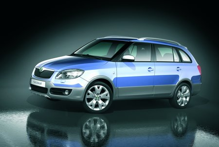 Fabia gets the mock 4x4 treatment