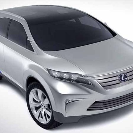 Lexus shows possible RX replacement
